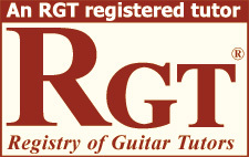 RGT Registry of Guitar Tutors Logo